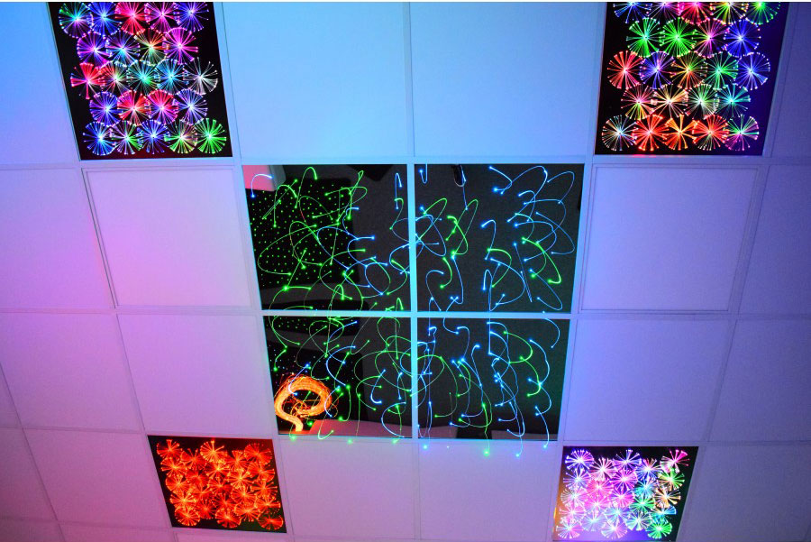 Ceiling Panels for Sensory Rooms In Schools